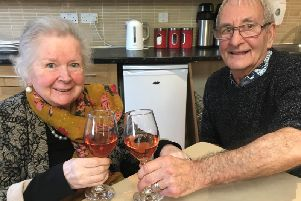 Gordon and Anne-Marie became friends when they sat at the same table for lunch one day.