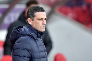 Jack Ross has discussed the pressure of playing on home soil