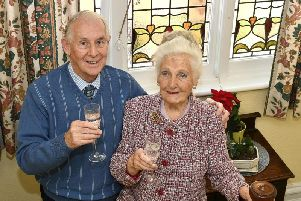Bryan and Barbara Sykes celebrate their golden wedding today.