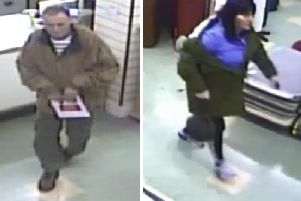 Police are appealing for help to identify these suspects.