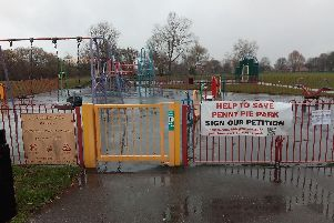 Blow: Campaigners have been told the Government will not 'call in' the decision to build a road on Penny Pie Park
