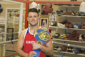 Wakefield fighter Dom Hunt will fight in his second pro bout tomorrow evening.