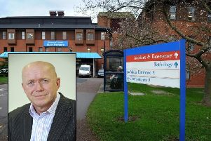 Chief Executive Mike Proctor said there is 'no ideal solution' to the loss of breast cancer outpatient services.
