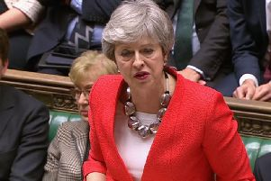 Prime Minister Theresa Ma.'Image by House of Commons/PA Wire.