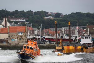 Whitby RNLI's all-weather lifeboat.