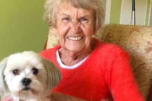 Margaret, aged 83, was introduced to care dogMikey throughVisiting Angels, a local in-home care company which help residents across Sheffield.