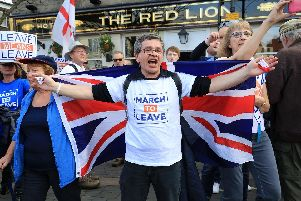 Nigel Farage's March To Leave comes to Doncaster.