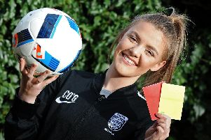 Caitlin O'Grady, 16, pictured. Picture: Marie Caley