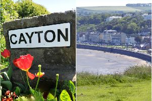 Left: Cayton. Right: Filey.'Two of the parish councils being contested in the upcoming elections.