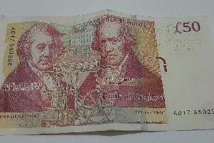 Counterfeit 50 notes have been used in and around Scarborough.