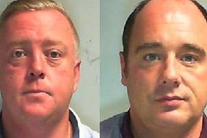 Anthony Woodcock and David Bellamy were jailed at York Crown Court.