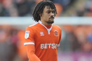 Blackpool's loanee midfielder Nya Kirby has his own theory for the Seasiders' home struggles