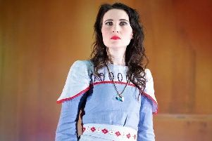 Paula Sides as Elettra in English Touring Opera's propduction of Idomeneo