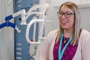 Gemma Nicholson studies as a Trainee Nursing Practitioner at CU Scarborough