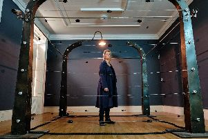 Annabel McCourt's Electric Fence will give visitors to Scarborough Art Gallery a rare chance to see a bold and important piece of work that was a response to the highly publicised sermon of a North Carolina pastor advocating a solution to same-sex marriage