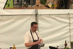 James Mackenzie at Scarborough Food & Drink Festival 2019