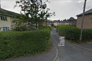 A delivery driver was robbed at knife-point near St Andrews Walk.