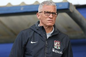 Keith Curle, who has made two new signings already at Northampton Town. (PHOTO BY: Pete Norton/Getty Images)