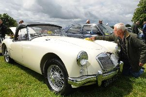 Stylish cars like this 1956 MGA 1500 will be on show