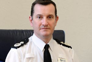Temporary Chief Constable John Robins
