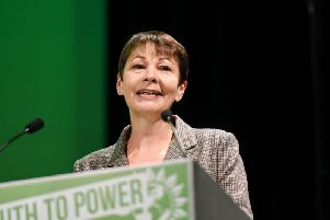 Green party co-leader Caroline Lucas.