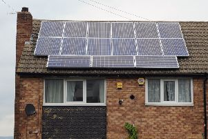 Labour said solar panels could be installed at 2,887 properties.