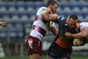 Daniel Smith, back in the Castleford Tigers squad.