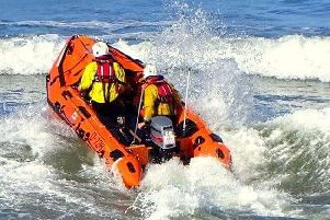 The Inshore Lifeboat was launched at 11.45am