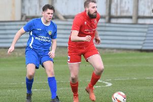 Jake Day in action for Bridlington Town