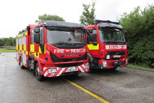 For the first time in 10 years, North Yorkshire Fire and Rescue Service are recruiting new full time firefighters. PIC: North Yorkshire Fire and Rescue Service