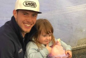 Daley Mathison, left, with daughter Daisy. PIC: Family of Daley Mathison.