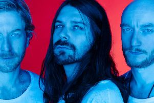 Biffy Clyro will play in Scarborough this evening. PIC: Austin Hargrave