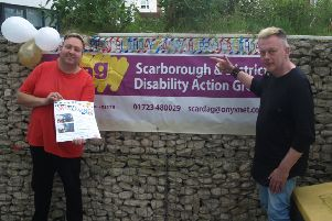 Scarborough Disability Action Group will mark its 30th birthday with a community fund day on Thursday, August 1.