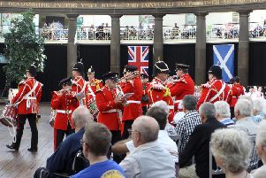 The Buxton Military Tattoo at the Devonshire Dome, Buxton.