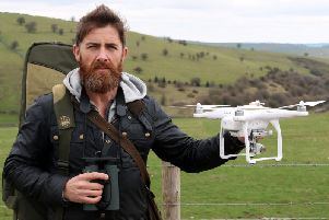 Aldo Kane terrified us with his documentary on drones
