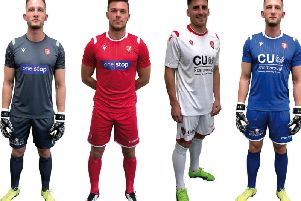 Scarborough Athletic have released their new kits