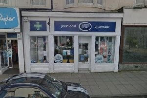 The store on Belle Vue Street.