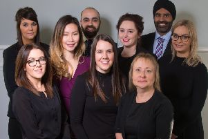 Top Team: Brighouse-based Town Hall Dental has been named as the best practice in the UK.