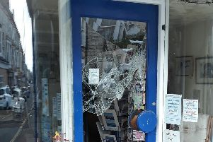 St Catherine's shop on Victoria Road has been burgled.