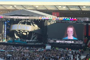 Jess Glynne opens for The Spice Girls at Sunderland. Photo: JPIMedia