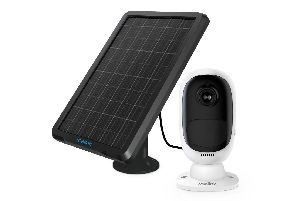 Reolink Argus 2 security camera and solar panel