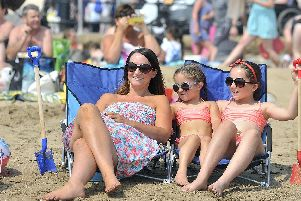 Scarborough is set to bask in a heatwave all week. PIC: Richard Ponter