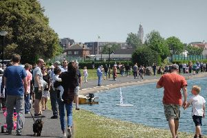 Fairhaven Lake has long been a popular attraction