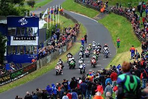 The last race at Oliver's Mount was in 2017. PIC: Tony Johnson