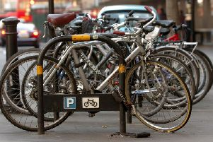 The number of people cycling in Nottinghamshire has gone up.