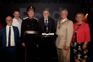 OE Electrics were presented with the Queen's Award for Enterprise for International Trade by Her Majesty the Queen's local representative, the Lord-Lieutenant of West Yorkshire.