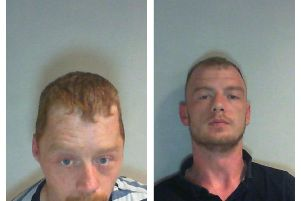 Daniel Squire, 28 (left) and Anthony Cleary, 26.