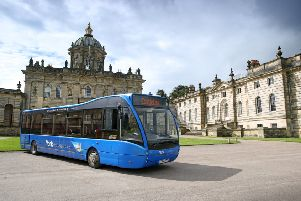 CastleLine bus operator York and Country is operating special services during the event at Castle Howard.