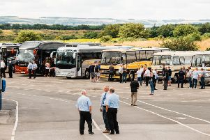 The rally was the first of its kind for Plaxton. PIC: Alexander Dennis