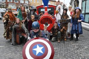 The annual Comic Con will be held at Bridlington Spa on Saturday, September 7.